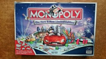 Monopoly The Here & Now  Limited Edition Game